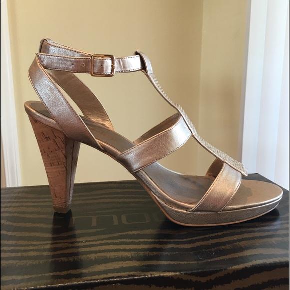 Moda Spana Open Toe High Heel Sandals